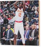 Milwaukee Bucks V Atlanta Hawks Wood Print