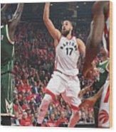 Milwaukee Bucks V Toronto Raptors - Wood Print