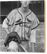 National Baseball Hall Of Fame Library 13 Wood Print