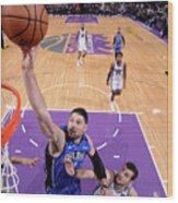 Orlando Magic V Sacramento Kings Wood Print