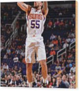 Sacramento Kings V Phoenix Suns Wood Print