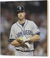 San Diego Padres V Arizona Diamondbacks 13 Wood Print