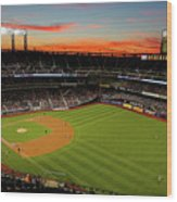 Washington Nationals V New York Mets Wood Print