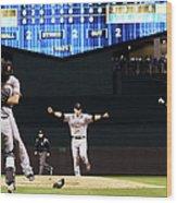 World Series - San Francisco Giants V Wood Print