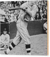 National Baseball Hall Of Fame Library 133 Wood Print