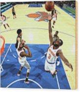 Brooklyn Nets V New York Knicks Wood Print