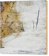 1474 Scorched Earth Wood Print