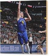 Denver Nuggets V San Antonio Spurs - Wood Print