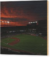Toronto Blue Jays V Baltimore Orioles Wood Print