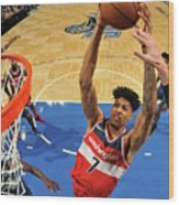 Washington Wizards V Orlando Magic Wood Print