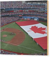 Boston Red Sox V Toronto Blue Jays Wood Print