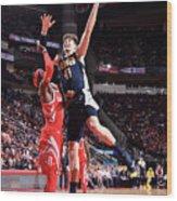 Denver Nuggets V Houston Rockets Wood Print