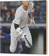 Kansas City Royals V New York Yankees 16 Wood Print