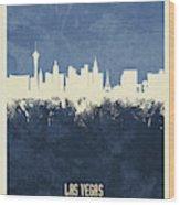Las Vegas Nevada Skyline Wood Print