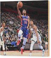 Milwaukee Bucks V Detroit Pistons - Wood Print