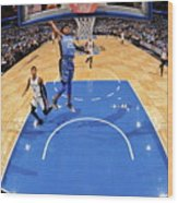 San Antonio Spurs V Orlando Magic Wood Print
