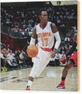 Washington Wizards V Atlanta Hawks Wood Print
