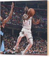 Brooklyn Nets V Cleveland Cavaliers Wood Print