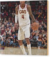 Chicago Bulls V Cleveland Cavaliers Wood Print