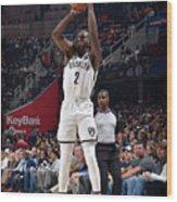 Brooklyn Nets V Cleveland Cavaliers Wood Print