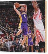 Los Angeles Lakers V Houston Rockets Wood Print