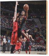 Toronto Raptors V Cleveland Cavaliers Wood Print
