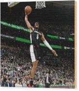 Washington Wizards V Boston Celtics Wood Print