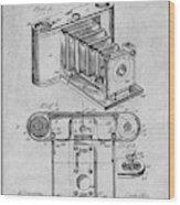 1899 Photographic Camera Patent Print Gray Wood Print