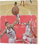 Atlanta Hawks V Washington Wizards - Wood Print