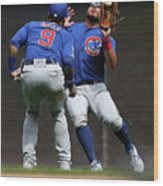 Chicago Cubs V Milwaukee Brewers 19 Wood Print