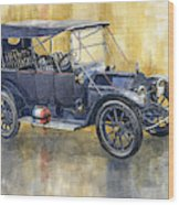 1913 Cadillac Four 30 Touring Wood Print