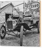 1915 Ford Model T Truck Wood Print