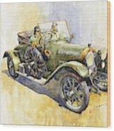 1916 Praga Mignon Wood Print