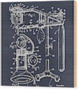 1919 Anesthetic Machine Blackboard Patent Print Wood Print
