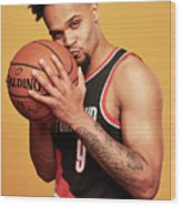 2018 Nba Rookie Photo Shoot Wood Print