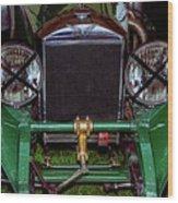 1930's Invicta Roadster In Colour Wood Print