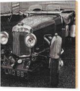 1930's Aston Martin Convertible Wood Print
