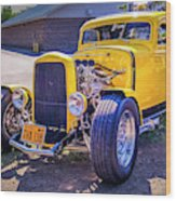 1931 Ford Model A 5 Window Coupe Wood Print