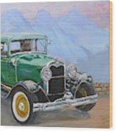 1932 Ford Model A  Wood Print