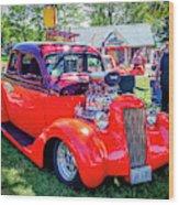 1935 Dodge Coupe Hot Rod Gasser Wood Print