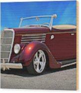 1935 Ford Roadster Wood Print