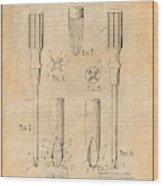 1935 Phillips Screw Driver Antique Paper Patent Print Wood Print