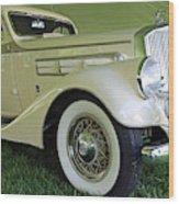 1935 Pierce Arrow Wood Print