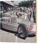 1938 Auto Unions, C1938 Wood Print