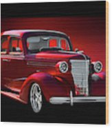 1938 Chevrolet Master Deluxe Sedan Wood Print