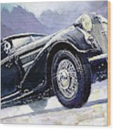 1938 Horch 855 Special Roadster Wood Print