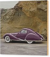 1939 Talbot-lago Model T 150 Ss With Wood Print