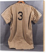 National Baseball Hall Of Fame Library 194 Wood Print