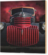 1946 Pickup Wood Print