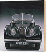 1950 Jaguar Xk 120 Wood Print